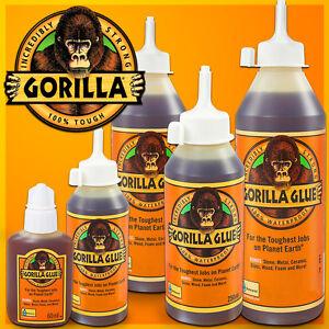super strong gorilla glue epoxy waterproof multi purpose adhesive various sizes ebay. Black Bedroom Furniture Sets. Home Design Ideas