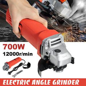 700W-220V-Lucidatrice-Smerigliatrice-Angolare-Elettrica-Professionale-M10-100mm