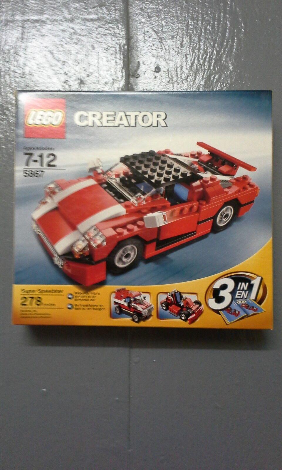 LEGO  5867 - Creator - Super Speedster (MISB)  sconto prezzo basso