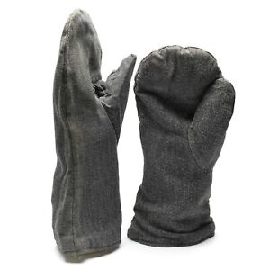 Original-Swiss-Army-winter-mittens-with-flannel-lining-Military-issue-gauntlets