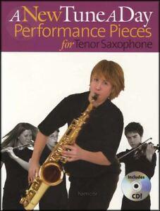 A New Tune A Day Performance Pieces For Saxophone Ténor Sheet Music Book/cd-afficher Le Titre D'origine ArôMe Parfumé