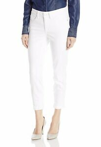 Not-Your-Daughters-Jeans-NYDJ-Alina-Convertible-Ankle-Stretch-White-Size-14