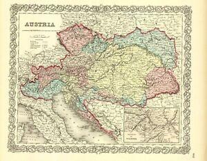 1860-Colton-039-s-034-AUSTRIA-034