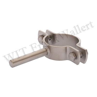 Edelstahl 114,3mm 1.4301 Rohr Rohrschelle Schelle M Schaft DN100