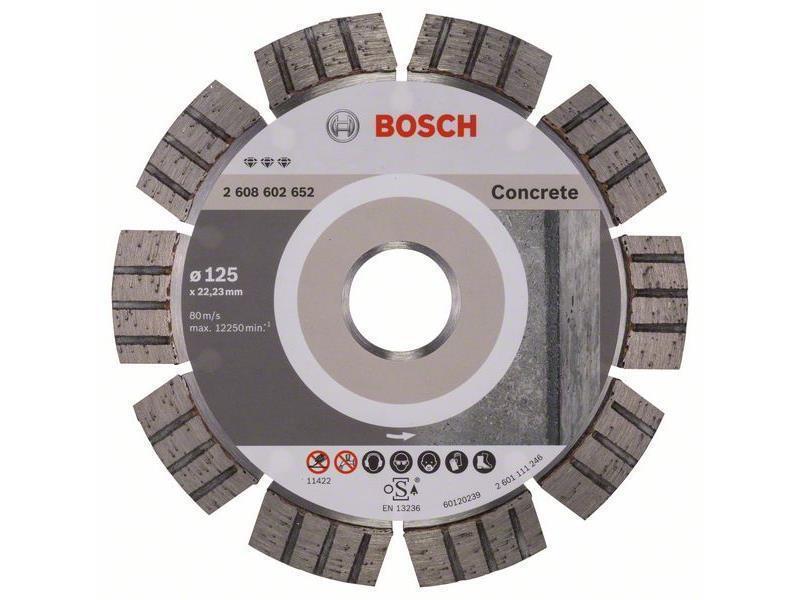 Bosch Diamanttrennscheibe Best for Concrete
