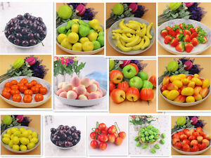 10PCS-Artificial-Fake-Foam-Fruits-Faux-food-Model-House-Kitchen-Party-Decor