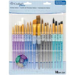 Royal-amp-Langnickel-Crafter-039-s-Choice-Variety-Brush-Value-Set-18pcs-RCC701