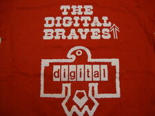 "Vintage The Digital Braves ""Your Chief Manufacturer"" Red T Shirt Mens Size S"