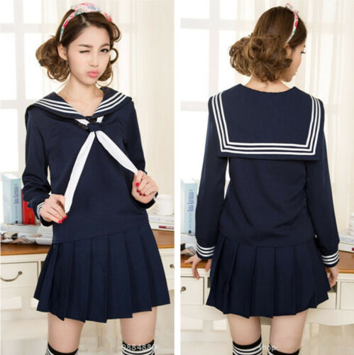 Tiger×DRAGON Aisaka Taiga School Girls Sailor Suits Uniform Cosplay Kostüm Party