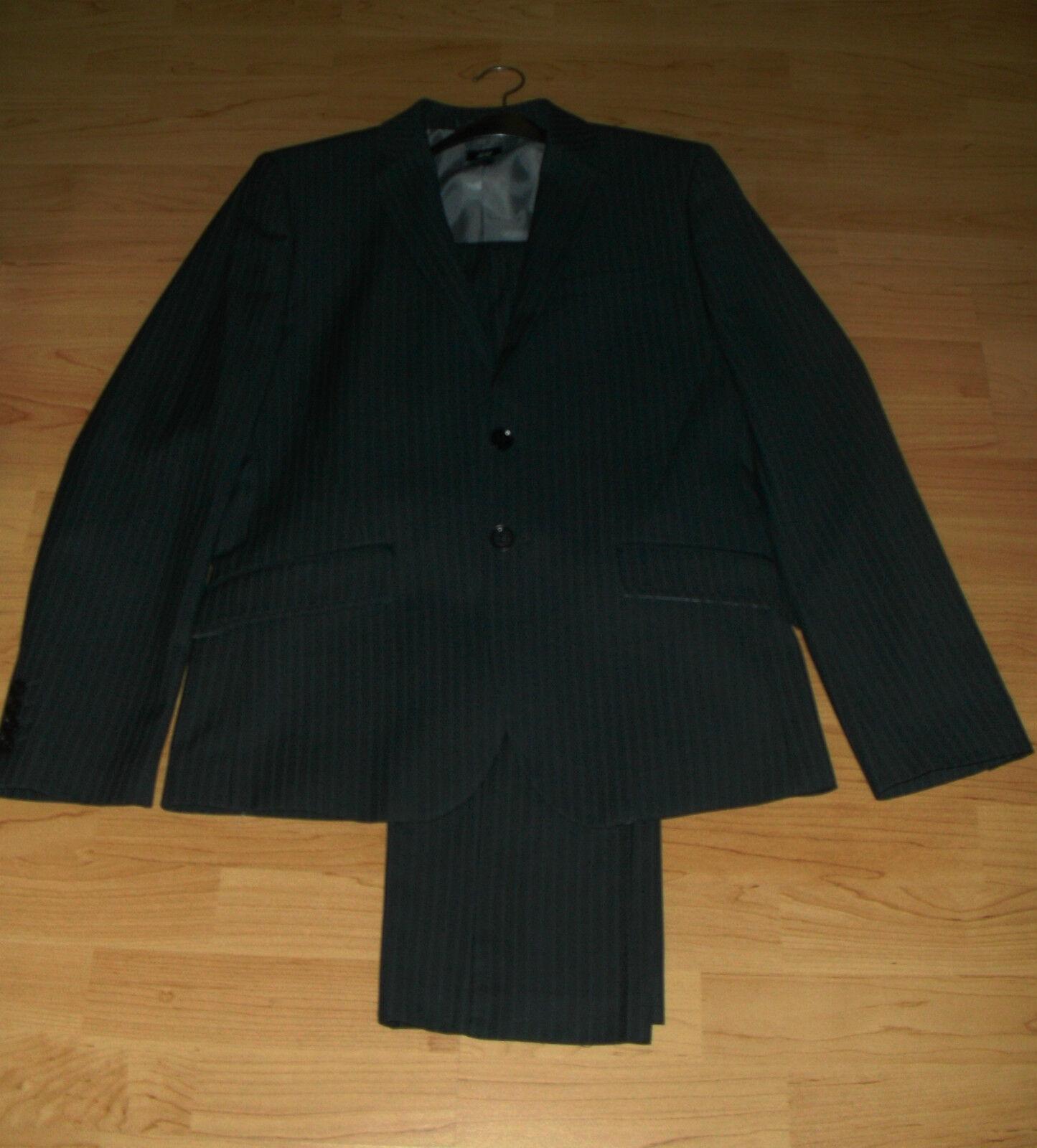 H&M Herrenanzug Anzug 2 Teile Sakko + Hose Gr 48