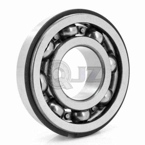 10x 6405 Open 25 x 80 x 21mm Ball Bearing w// Snap Ring Deep Groove New QJZ