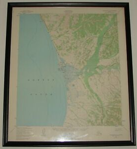 Details about Vintage US Geological Survey Topographic Map UNALAKLEET  ALASKA 1965