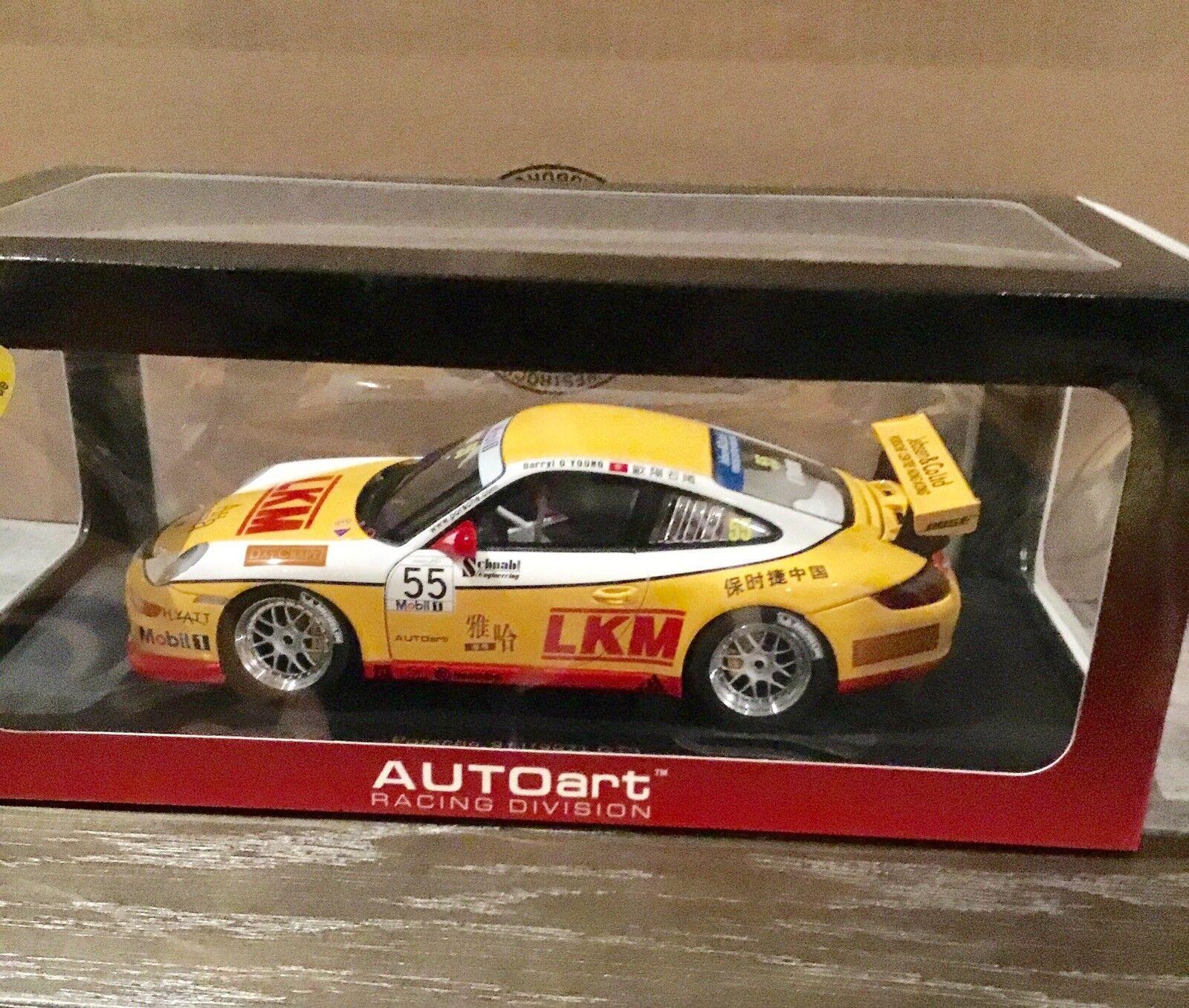 Autoart Porsche 1 18 Taza 911 GT3 997 No.55 2007 Jebsen Japón  Nuevo en Caja