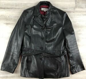 Wilson S Leather Maxima Women S Xl 4 Button Black Leather Jacket