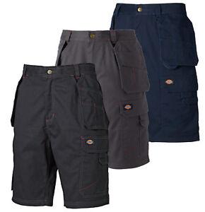 Rabattgutschein kostenloser Versand perfekte Qualität Details zu Dickies Shorts Redhawk Pro Schwarz/Grau/Marine Arbeitsshort  kurze Hose