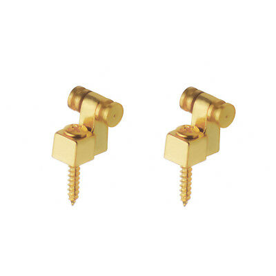 1pair of golden electric guitar string retainers roller string tree guide metal 600685817735 ebay. Black Bedroom Furniture Sets. Home Design Ideas