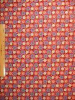Katmandu Stars Circles Cotton Fabric By The Yard Bty