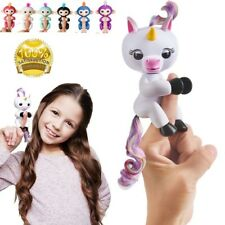 Xmas Gifts Interactive Unicorn Gigi Finger Interactive Electronic Pet Kids Toys