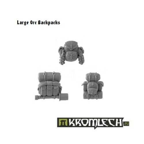 ORKS orc large backpacks 40K NEW Kromlech tank bustas Kommando