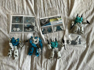 Transformers Topspin and Twintwist Mech Ideas Geminus Apex Clones Prime Lot