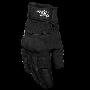 Rusty-Stitches-Sommer-Handschuhe-Clyde-schwarz-Gr-M-Motorradhandschuhe-NEU