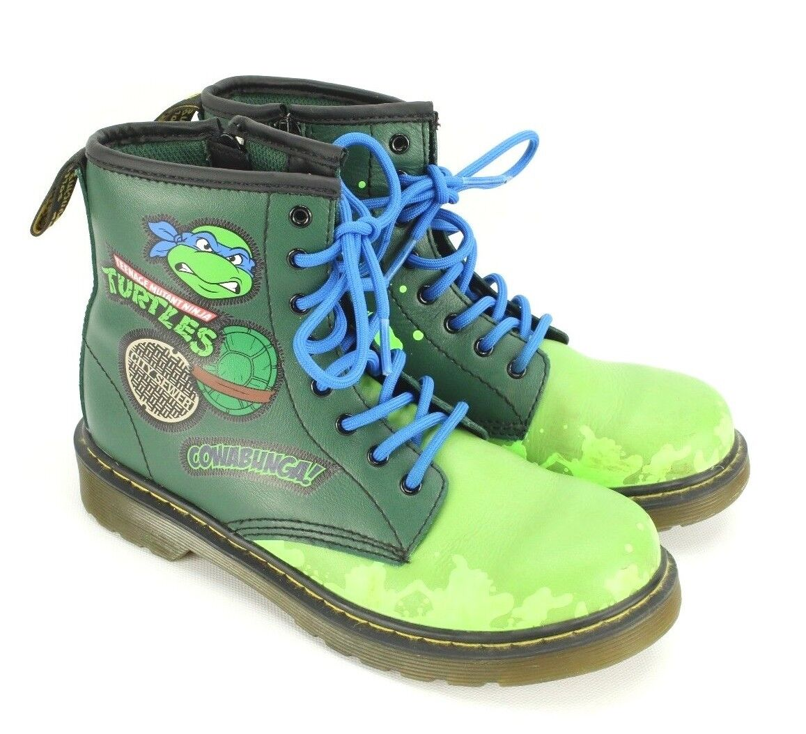 Dr. Martens Boots Teenage Mutant Ninja Turtles Mens 4 Ladies 5 TMNT shoes RARE
