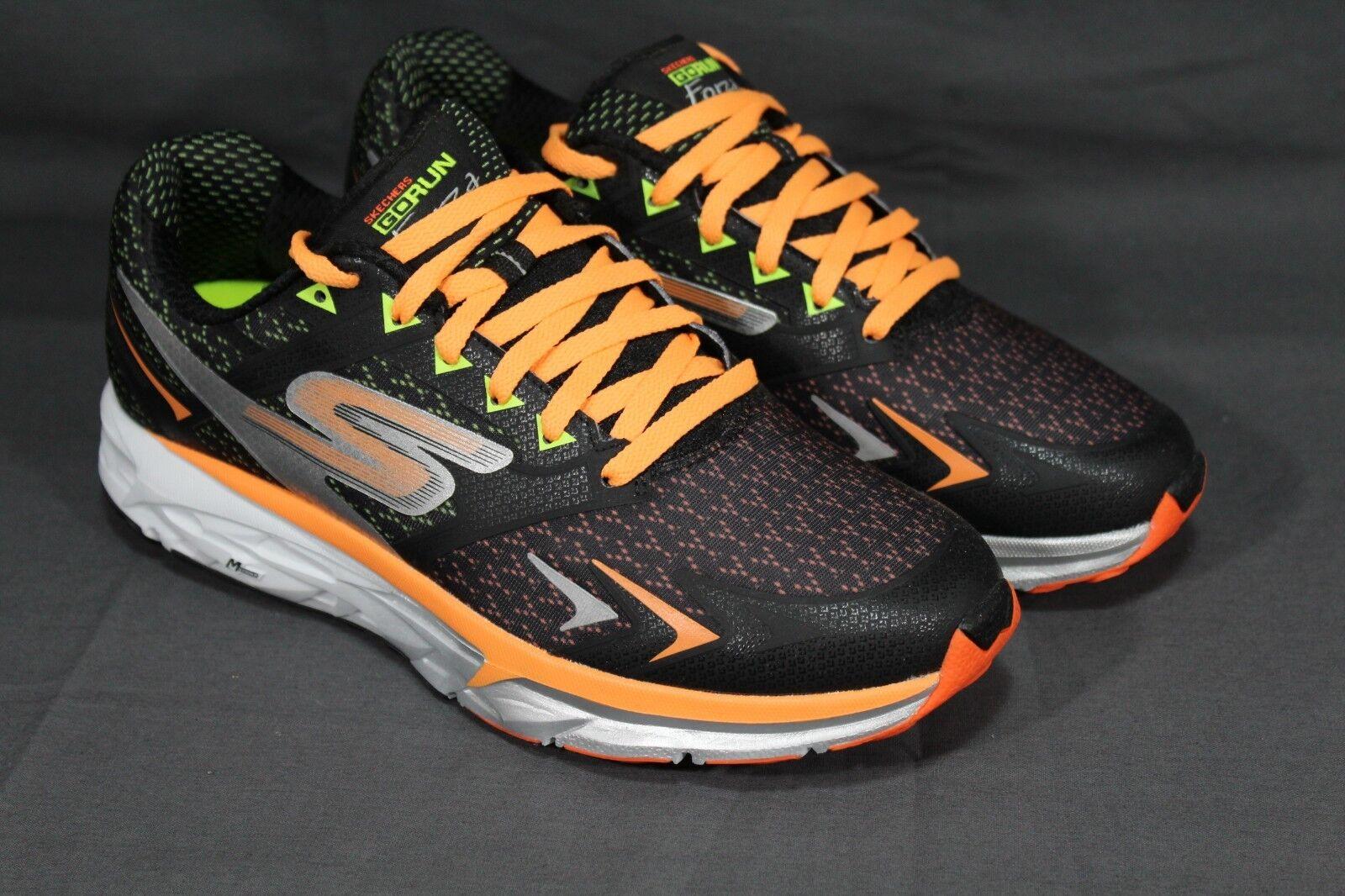 1eb8731f8d11 NEW GoRun Forza Mens Running Shoes 54105 BKOR Size 9.5 D Skechers ...