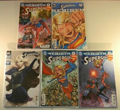 Comic CB14711 Supergirl #13 Rebirth Stanley Artgerm 1st Print  Variant D.C