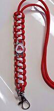 Alabama Crimson Tide; 'Bama Roll Tide UA Handmade Paracord Lanyard or Bracelet