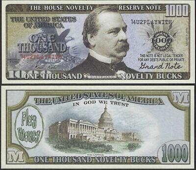 100pk In Trump We Trust  2020 Dollar Bills  MAGA Novelty Funny Money