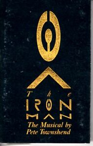 Pete Townshend The Iron Man Musical 1989 Cassette Tape Album Classic Rock WHO