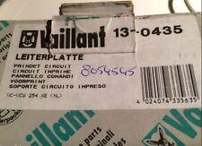 VAILLANT 130435 13-0435 LEITERPLATTE VC VCW 254 XE (NL) VOORPRINT NEU