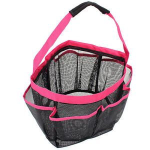 Shower Caddy Tote shower caddy mesh 8 pocket portable quick dry travel tote carry