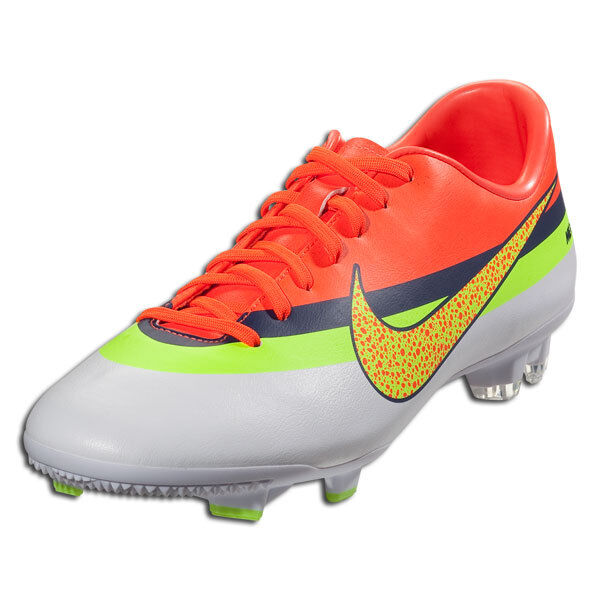 NIKE MERCURIAL VICTORY IV CR FG FIRM GROUND SOCCER SHOE FOOTBALL White Total Cr