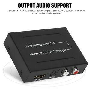 HDMI-to-HDMI-18Gbps-Audio-Extractor-4K-2K-SPDIF-RCA-L-R-110-240V-EU-Plug