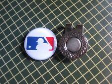 GOLF / Major League Baseball Logo Golf Ball Marker/with Magnet Hat Clip New!!