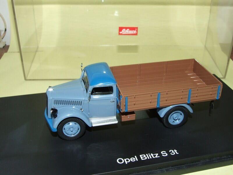 OPEL BLITZ S 3 tonnes camion benne SCHUCO