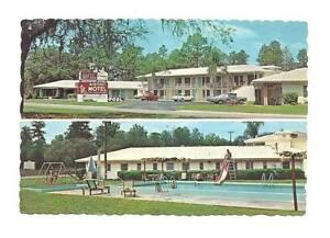 SILVER-SPRINGS-OCALA-FL-Monterey-Motel-Vtg-1970s-Cars