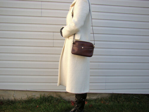 Handbag Cuir En Goldpfeil handmade Allemagne Neuf Bordeau Rare Femme 6PwXZq