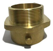 Fire Hose Adapter Pin Lug Fitting Material Brass X Brass Size 3 X 2 12