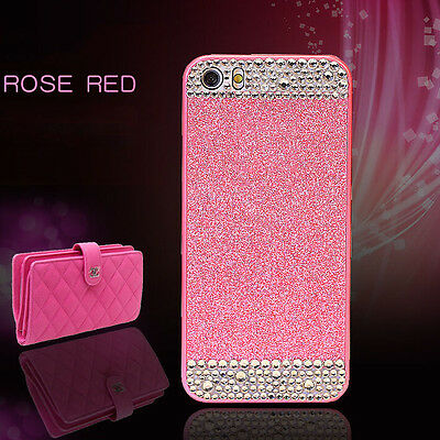 """New Glistening Crystal for Grils Phone Case Cover for iPhone 6 4.7"""" 5.5"""" 6S 5S"""