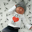 Newborn Infant Toddler Baby Boy Valentine/'s Day Boys Outfit Shirt Clothes Gift