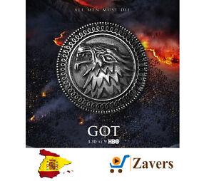 Broche Casa Stark Juego de Tronos - Stark Booch Game of Thrones