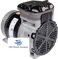 Gast 87r Rocking Piston Compressor/vacuum Pump 110v 1/4hp Veneer Aerate 2yr