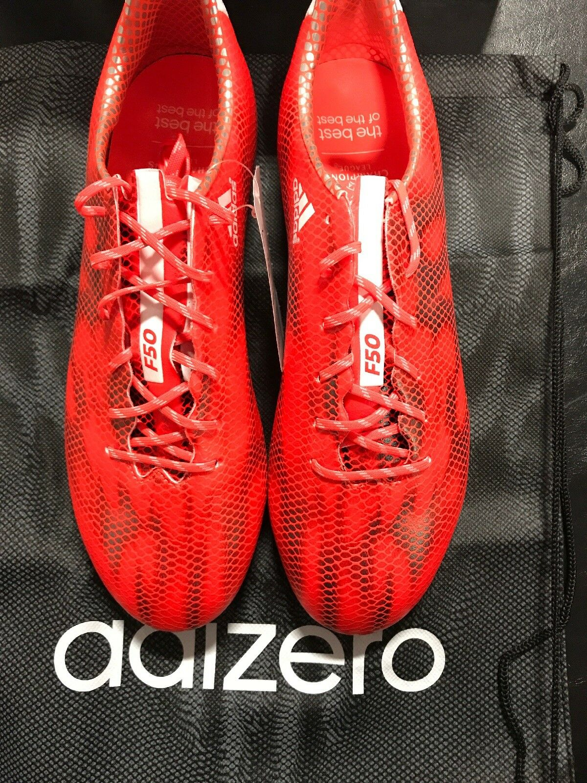 0d4823d056b adidas F50 Adizero FG Soccer Cleats UEFA Champions League Solar Red Mens  B34853 8 for sale online