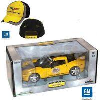 1/24 2005 Chevy Corvette Daytona 500 Pace Car W Corvette Racing Hat