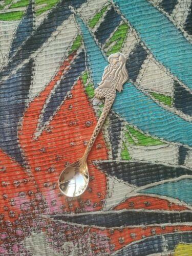 Funky Silver Rainbow MERMAID Tea Spoon STAINLESS STEEL Gift for Woman Girls
