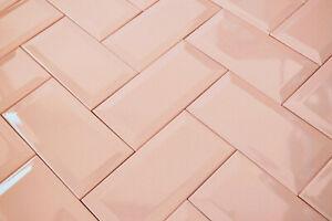 Brick Bevel Rose Baby Pastel Pink