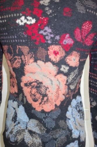 Laine Fleurs D'agneau Anthracite Brocart Ivko Veste 52709 Gris q7wxfgHz4