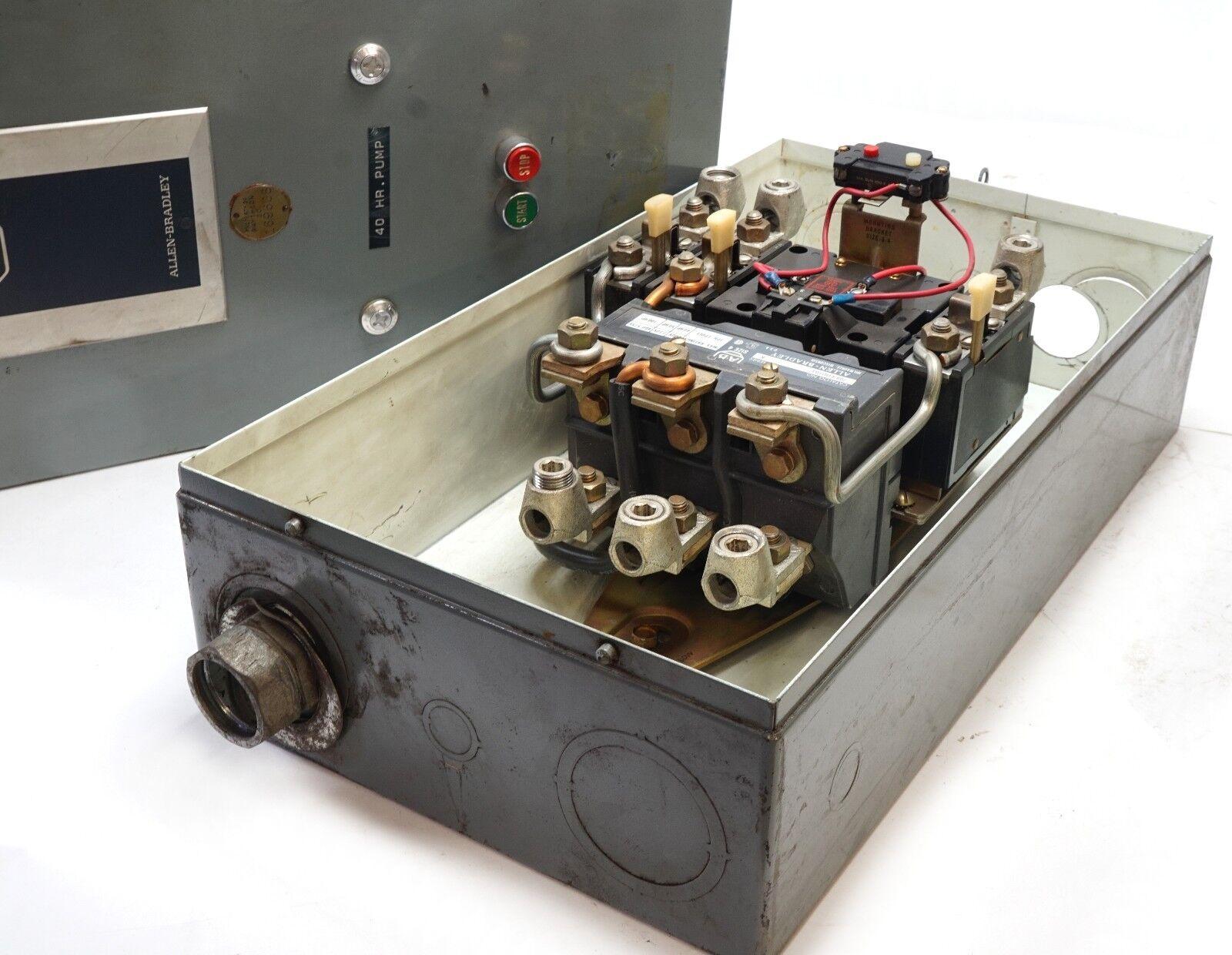 allen-bradley motor starter, 709-EOD103